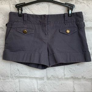Topshop mini shorts good button details